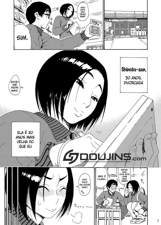 Batsuichi Body Shinobu-San